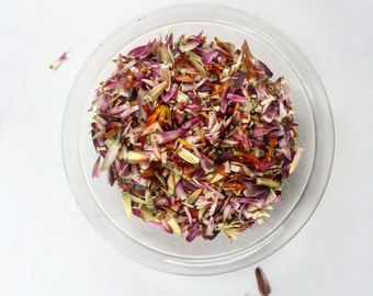 Dried Strawflower Petals - 2 cups
