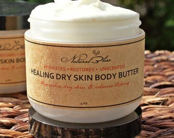 Healing Dry Skin Butter | Natural | Unscented