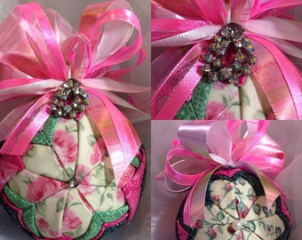 Wild Rosebud Ornament