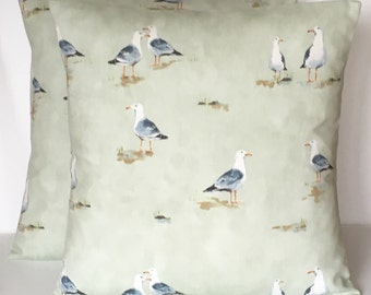 "2 x 16"" (40cm x 40cm) Prestigious Textiles Waters Edge Seaspray Cushion Covers"