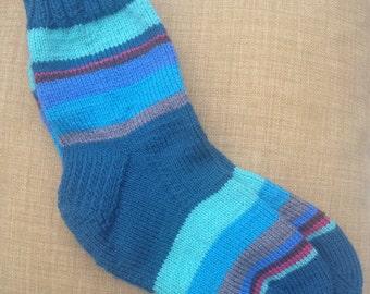 Turquoise obsession socks