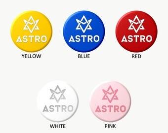 ASTRO LOGO (Select Choice) Button+Keychain KPOP