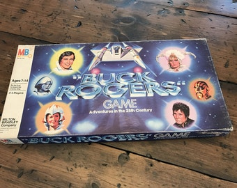 Vintage 1979, Buck Rogers Board Game, Adventures in the 25th Century (A863)