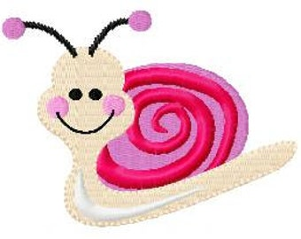 Cute Bugs and Flowers Machine Embroidery Designs