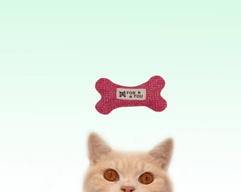 Freak Meowt, Handmade Unique Canadian Catnip Bone  Cool Cat Toys Gifts for Cats