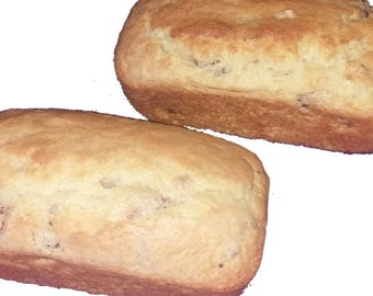 Banana Bread, Pumpkin Bread, baked bread, homemade sweet bread, edible gifts, specialty food, gourmet food