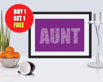 Aunt,  Auntie, Aunt present, Aunt gift