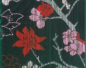 Gothica Flower Bamboo Beaded Curtain