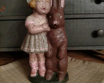 Primitive Girl and Bunny