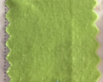 Lime Quilter's Homespun 100% Cotton Fabric 1/2m lengths