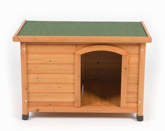 Items similar to dog house plans for the cape dog house for Dog house plans pdf