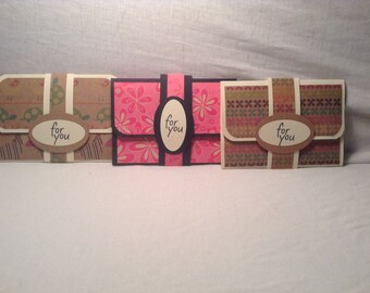 WALLET STYLE GIFT Card Holder