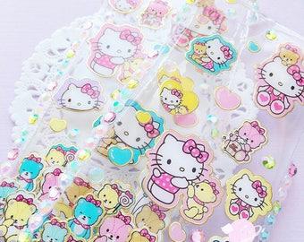 Hello Kitty resin decoden iPhone 6 case, kawaii decoden case, kitty phone case, resin decoden case, pastel kawaii case