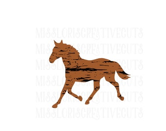Horse distressed   SVG   cut file  t-shirts  animals dressage  t shirtscrapbook vinyl decal wood sign cricut cameo Commercial use