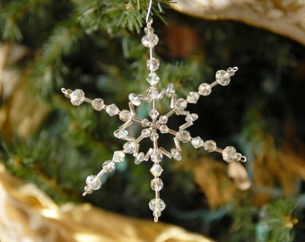 Snowflake Ornament-Suncatcher