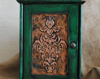 Key cabinet, Key Box , Key Holder , Key Hook, Key rack,  Wall mounted Cabinet , Useful Art