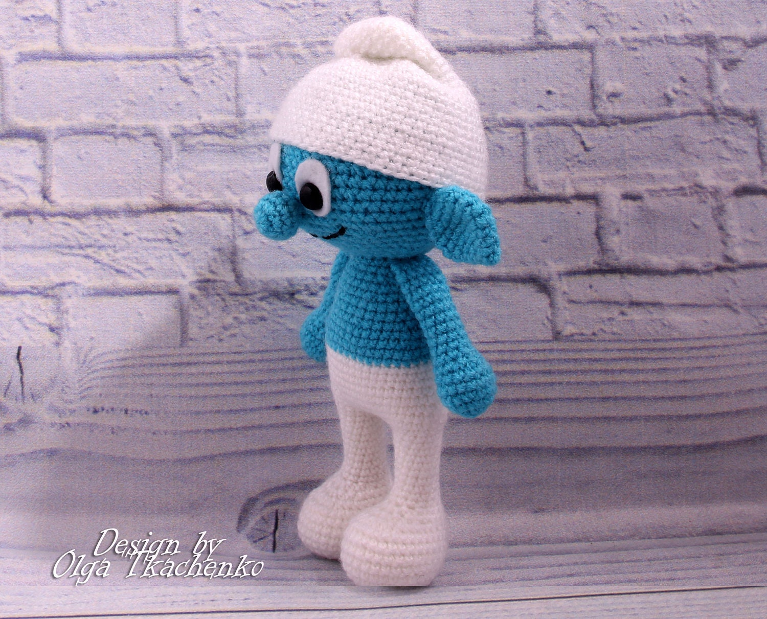 Pdf pattern toy smurf crochet pdf amigurumi pattern pdf doll toy this is a digital file bankloansurffo Image collections