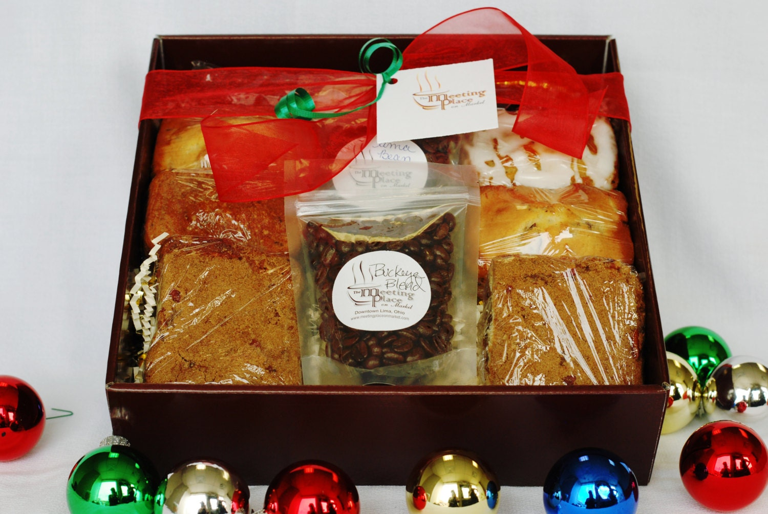 Gluten Free Gourmet Gift Basket With Coffee Homemade Baked