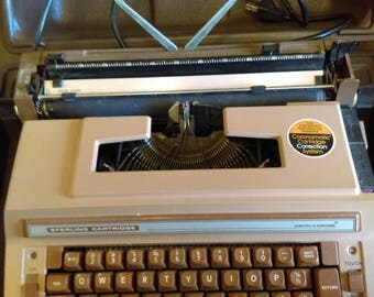Vintage Smith Corona Sterling Cartridge Electric Typewriter- Working Condition!