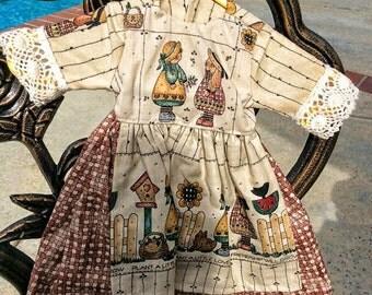 Country Print Dress