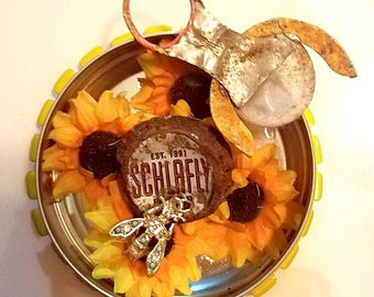 Schlafly, Don't Bother Me Art Assemblage in mint tin