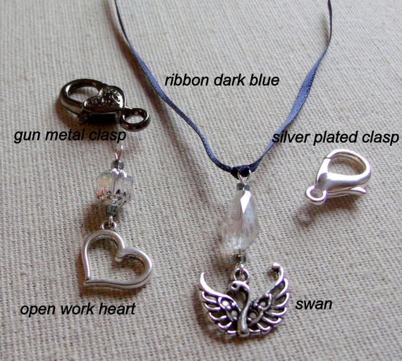Custom add on silver - gold charms for bridal - wedding - bachelorette party gifts - ribbon/clasp-ring -  any bead - color u like - keepsake