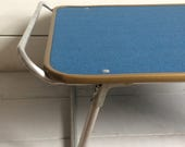 1960s70s Folding Camping Table  Festivals Camper Vans Bed or Lap Tray
