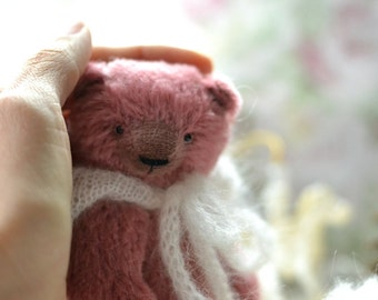 Teddy Bear Marfa Toy Stuffed Animal 5.5 inches to order