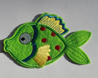 Iron on Patch Fish