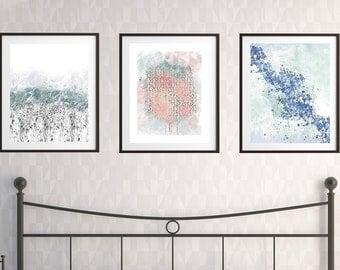Set of 3 printable, set of 3 wall art, abstract prints, abstract wall decor,wall art set, art print set,abstract set of 3,printable abstract