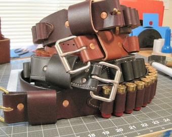12 or 20 gauge shot gun belt