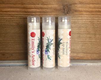 Rosemary Lip Balm/ All Natural Rosemary Lip Balm