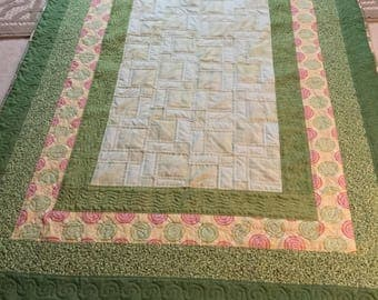 Twin sized quilt