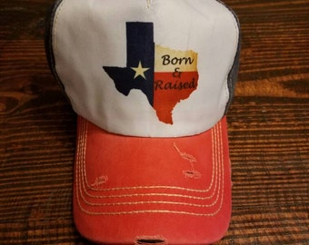 State of Texas Trucker Cap