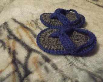 Crochet Baby boy sandal
