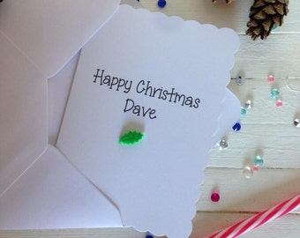 Personalised card holiday, funny holiday card, christmas card funny, best friend christmas, christmas card boyfriend, funny christmas card