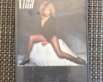 Tina Turner Private Dancer Cassette Tape