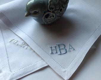 Baby boy handkerchief