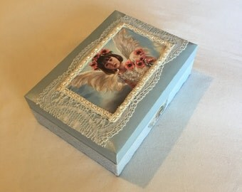 Angel treasure box