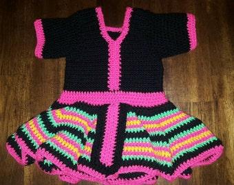 Hmong Leeg Crochet Baby Dress
