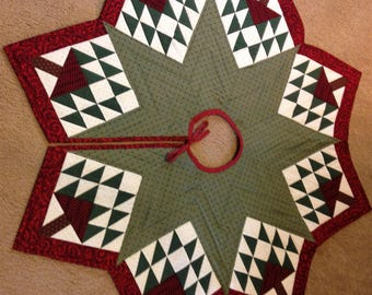 Quilted Christmas Tree Skirt - 2