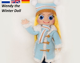 Wendy the Winterdoll - Crochet Pattern