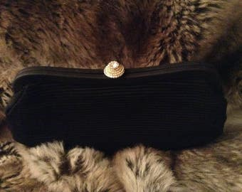 Vintage JR Black Evening Bag