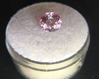 NATURAL Vivid Pink Tourmaline 1.50ct TOP GRADE Rubellite Oval Cut Gem
