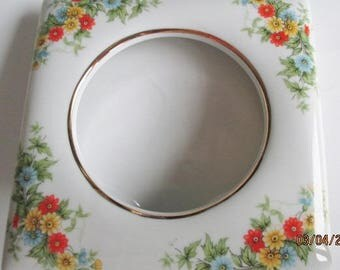 Lefton China Picture Frame, Lefton China Hand Painted Ceramic Picture Frame Lefton Numbered Frame, Lefton Floral Frames