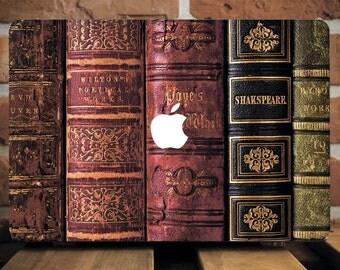 Vintage Books Case Macbook Pro Hard 13 Case For Macbook Pro 15 Hipster Macbook Case Laptop Cover Air 13 Macbook Cover Laptop Case  WCm101
