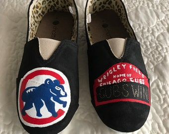 Chicago Cubs Canvas Shoes