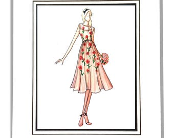 Fashion Illustration, Lela Rose