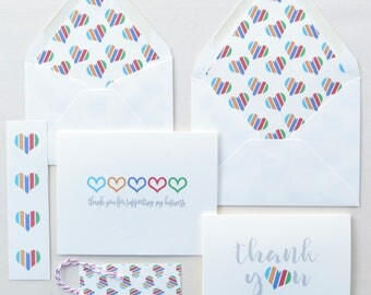 Small Stationery Gift - Perfect for Rodan and Fields Consultants - Card Bundle Pack (Six Pieces) - Promotion Gift
