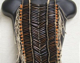 Native American Economy Brown Breastplate